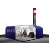 Блочно-модульная котельная установка пар,  вода