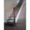 Предлагаем изготовление деревянных лестниц на заказ