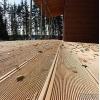 Террасная доска из лиственницы вельвет,   сорт АВ т.  28мм *шир.  145мм*дл.  6 и 4м