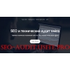SEO и технический аудит сайта в Москве,   Астане,   Киеве,   Минске