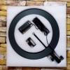 КОЛЬЦЕВАЯ ЛАМПА Led Ring 36 см Металлический корпус Держатель для телефона БЕЗ ШТАТИВА