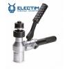 ПГРОу-60А пресс гидравлический ручной угловой алюминиевый для пробивки отверстий в стальных листах