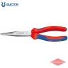 Плоские круглогубцы с режущими кромками KNIPEX KN-2612200